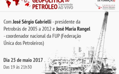 ENFPT realiza curso sobre a Geopolítica do Petróleo