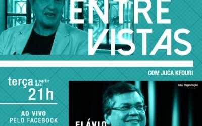 ESPECIAL: Programa Entre Vistas, hoje (30/01), com o governador do Maranhão, Flávio Dino