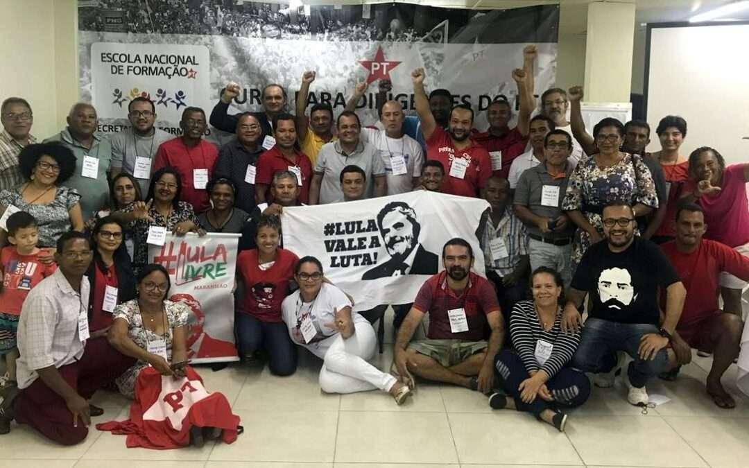 Curso para Dirigentes do PT no Maranhão