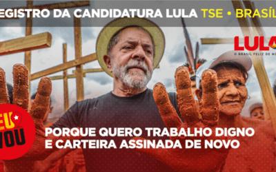 Gleisi Hoffmann convida para ato de registro da candidatura de Lula