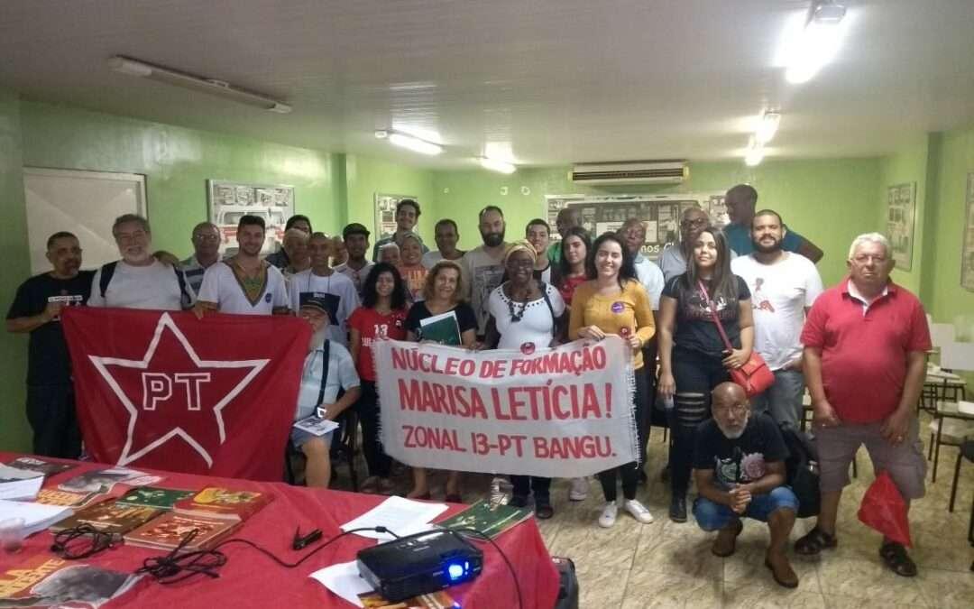 Encontro de Formação Política em Bangu/RJ