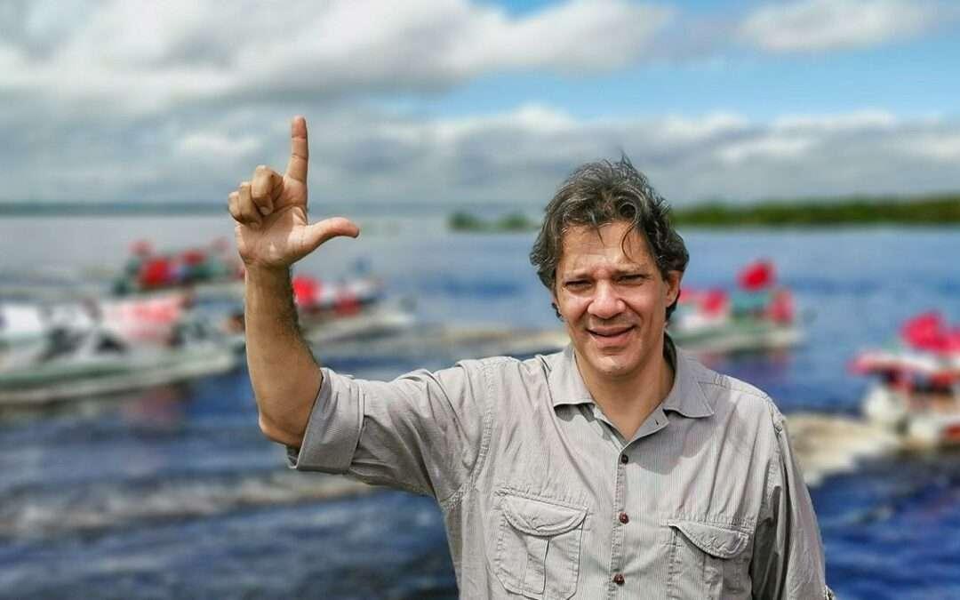Caravana Lula Livre com Haddad em Manaus, Amazônia