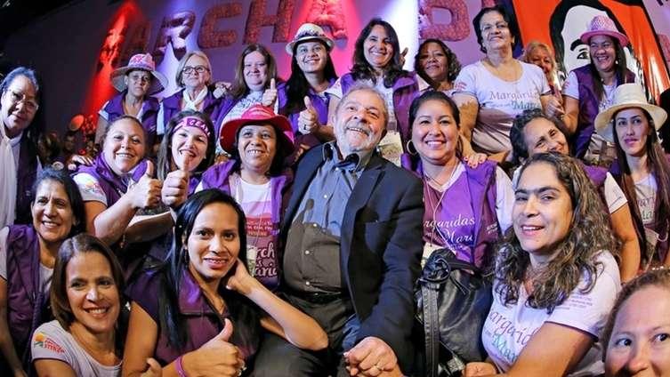 "Lula às Margaridas: ""Continuamos juntos nessa marcha"""